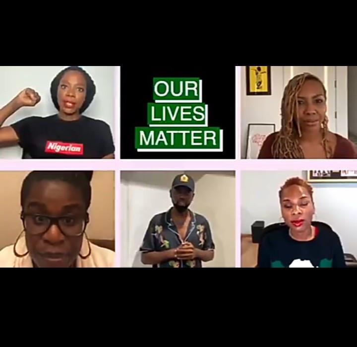 Des célébrités nigérianes de la diaspora publient une vidéo pour prêter leur voix aux manifestations contre le SRAS au Nigéria (vidéo)