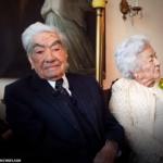 Le mari du plus vieux couple du monde décède à 110 ans, laissant derrière lui une veuve de 104 ans qu'il a épousée il y a près de 8 décennies
