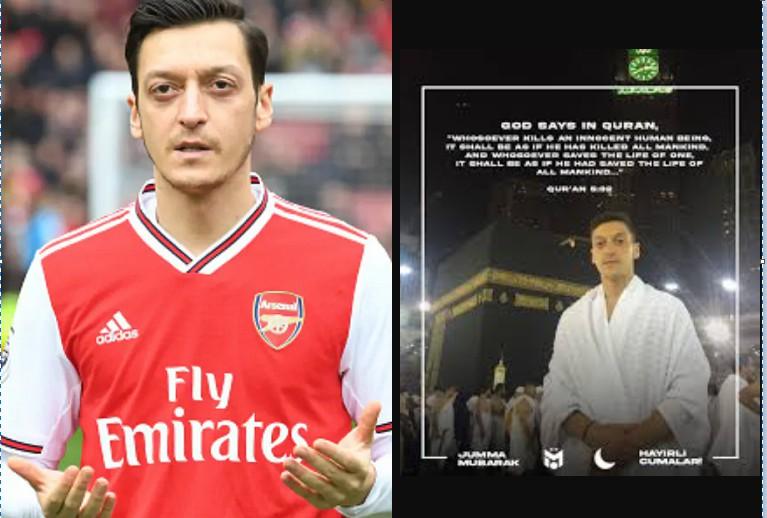 """""""Le terrorisme n'a pas sa place dans l'islam'' - Le milieu de terrain d'Arsenal, Mesut Ozil, condamne les récentes attaques terroristes en France"""