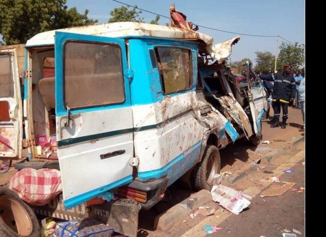 Côte d'Ivoire : 18 Burkinabè meurent dans un accident de la circulation à l'entrée de Bouaké
