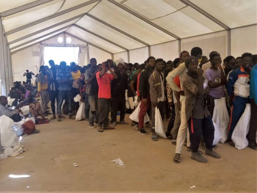 Arrivée de 705 migrants subsahariens à Assamaka au Niger - OIM
