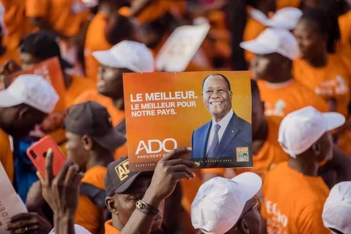 Côte d'Ivoire : Campagne présidentielle, Ouattara aux candidats de l'opposition : « s'ils sont garçons, qu'ils aillent aux élections et les Ivoiriens vont nous départager»