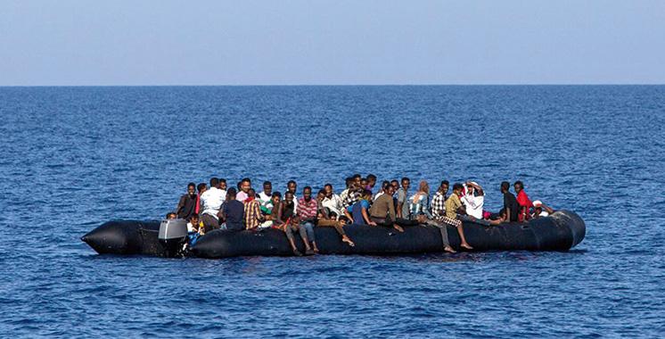 Maroc - Plus de 231 Subsahariens secourus en Méditerranée par la Marine Royale