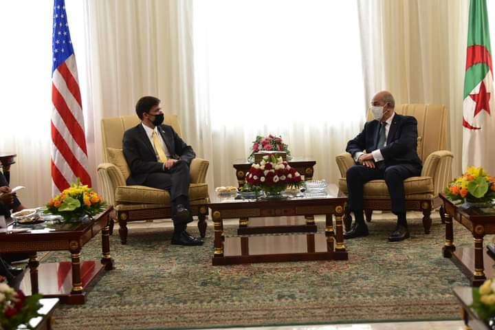 Diplomatie militaire : Visite du secrétaire américain de la défense en Algérie.