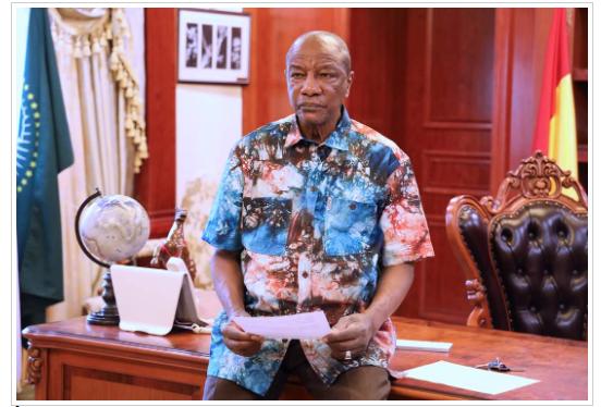 Guinée: Déclaré vainqueur de la présidentielle, Alpha Condé livre ses premiers mots…