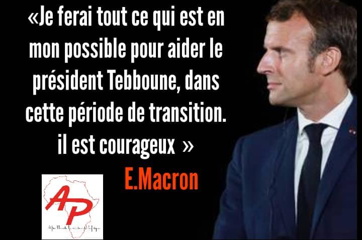 Dans un entretien accordé à jeune Afrique, le président français, a abordé de nombreux dossiers délicats, entre autres la lutte antiterroriste