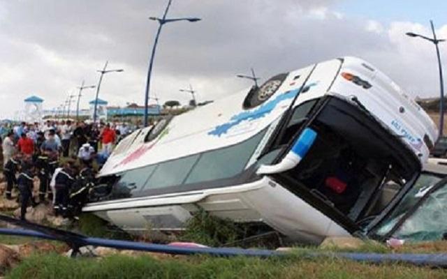 Tunisie - Avenue Mohamed 5 : Une collision entre deux bus fait une vingtaine de blessés