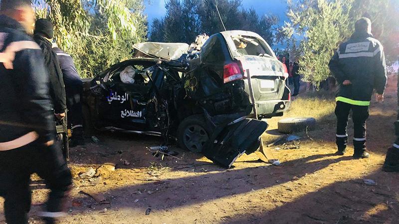 Tunisie - Décès de 3 Trois agents de la Garde nationale dans un accident à Kasserine