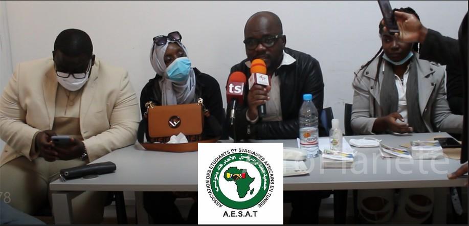 """Tunisie - Affaire Bintou: les étudiants subsahariens en colère """"Si la Tunisie ne veut pas de NOUS, nous partirons"""" - communiqué AESAT"""