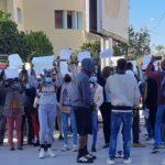 Tunisie - Les étudiants subsahariens Manifestent pour le retour de l'étudiant ivoirien rapatrié (photos + vidéos)