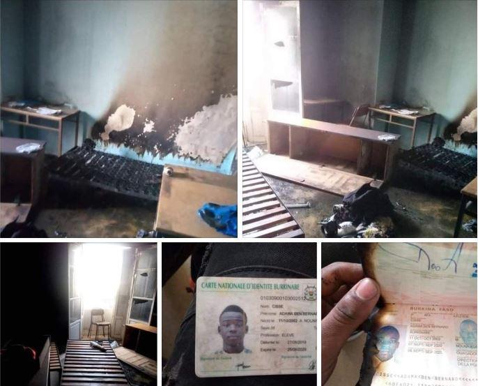 Tunisie - L'étudiant qui a vu sa chambre partie en fumée nous donne plus de détails