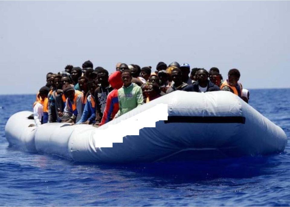 255 migrants sur 3 bateaux en caoutchouc en détresse au large de la Libye