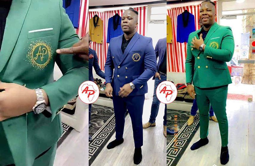 """L'influenceur ivoirien Apoutchou National se lance dans la mode, il crée sa marque de vêtement """"AP"""""""