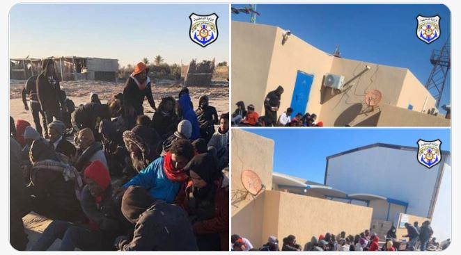 86 migrants africains interceptés par les garde-côtes libyens