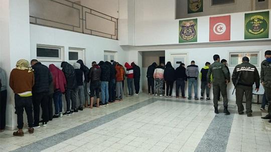Tunisie - Sfax : Sauvetage de 41 migrants irréguliers après le naufrage de leur embarcation