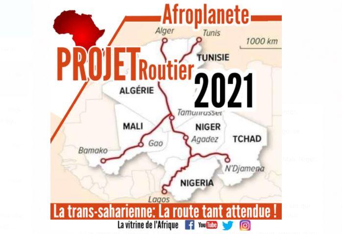 Afrique : La route transsaharienne, le projet qui se termine bientôt.
