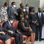 Côte d'Ivoire : Alassane Ouattara effondré à la vue de la dépouille mortelle d'Hamed Bakayoko (vidéo+photos)