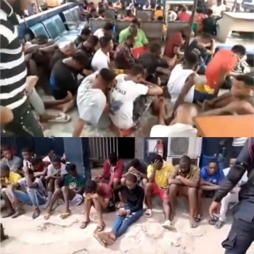 Le Ghana expulse 507 migrants Africains dont 494 Nigérians en situation irrégulière de leur pays (vidéo)