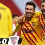 Coupe du Roi : Le Barca remporte son 31e trophée, Messi dans l'histoire (vidéo)
