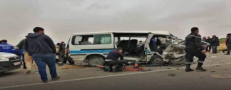Tunisie – Sfax : quatre morts dans un grave accident de la route